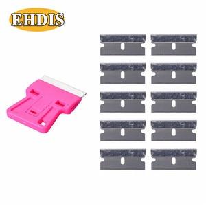 Image 2 - EHDIS скребок для бритвы + 10 шт., инструменты для тонировки окон, виниловая пленка для автомобиля, Ракель, стикер для стайлинга автомобиля, удалитель клея