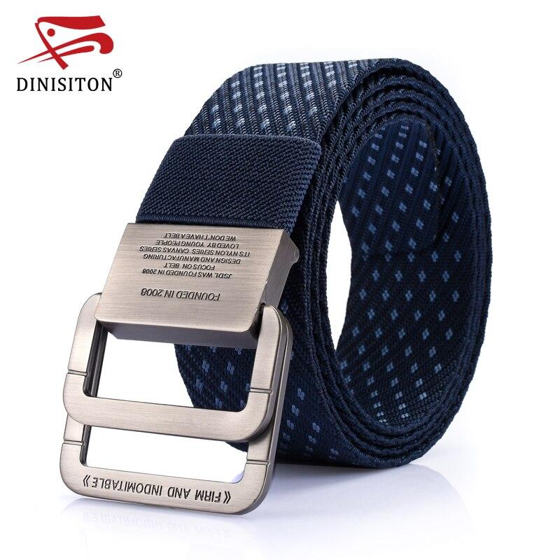 Cinturón táctico de lona dinitriton, cinturones militares de alta calidad para hombres y mujeres, cinturón de nailon de cintura, equipo informal de correa