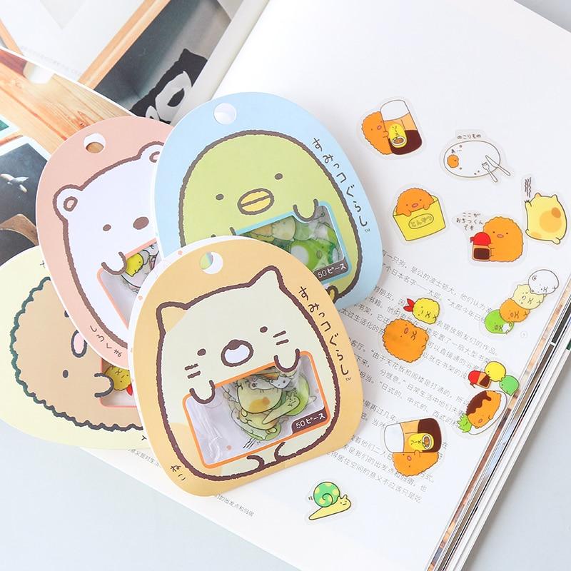 50-pz-pacco-kawaii-orso-gatto-adesivo-fai-da-te-adesivi-in-pvc-decorativo-diario-album-di-etichetta-bastone-di-carta-della-decorazione-di-cancelleria