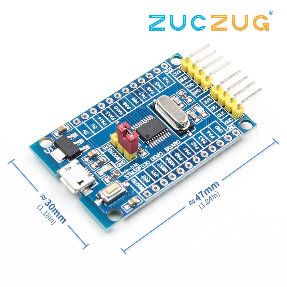 48 MHz STM32F030F4P6 pequeños sistemas de desarrollo CORTEX-M0 Core 32bit Mini sistema de desarrollo