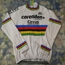 Printemps mince cyclocross champion du monde Mathieu long cyclisme jersey maillot de vélo respirant vtt vélo vêtements Ropa ciclismo