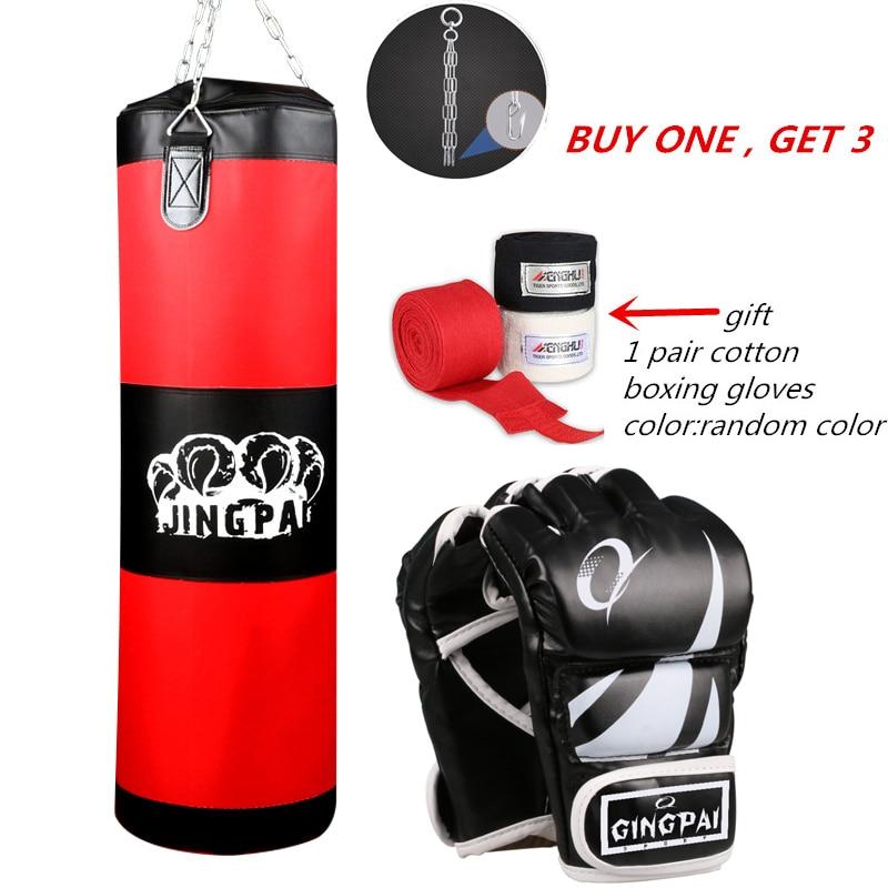 2016New Leinwand sandsack kind erwachsene MMA kickboxen boxsack schwere Grappling kampf boxhandschuhe anzug Leere boxsäcken