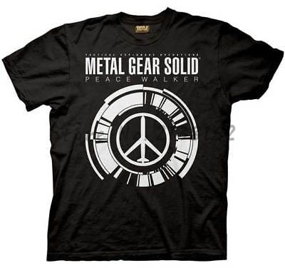 men t shirt brand cotton t-shirt summer fashion tops METAL GEAR SOLID PEACE WALKER ADULT SHIRT mens top tees