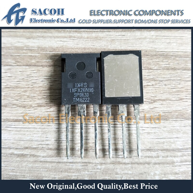 Envío gratis 10 Uds IXFX26N90 o IXFX25N90 o IXFX24N90Q TO-247MAX 26A 900V Polar MOSFET de potencia