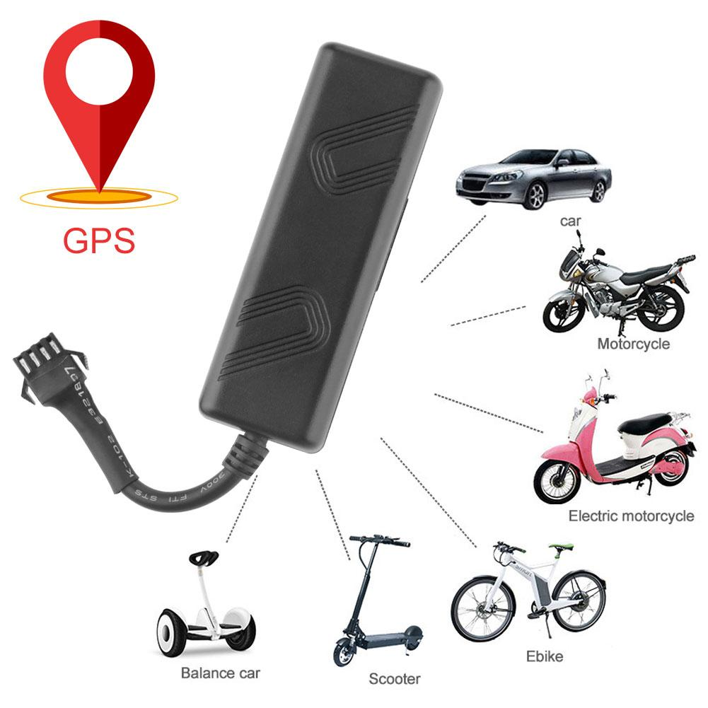 Localizador GPS TK205 para coche motocicleta e-bike antirrobo localizador en tiempo Real localizador gps