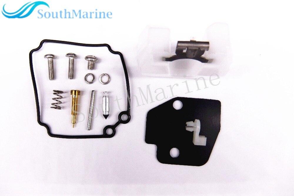 61n-w0093-00-00 barco a motor kit de reparo do carburador para motor de popa yamaha 30hp c30, frete Grátis