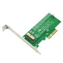 XT-XINTE pci-express PCIE PCI-E à 4X carte adaptateur SSD convertir carte pour Mac Air Pro 2015 2014 2013 A1398 A1502 A1493 A1465