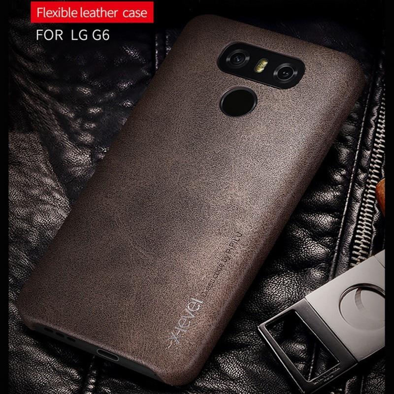 X-level абсолютно новый ультратонкий чехол из искусственной кожи для LG G6, чехол для мобильного телефона, Жесткий Чехол для задней панели, Беспл...