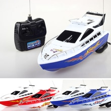 20M High Performance Electric Boat Toy Birthday Xmas Gift for Kids Random Colors High Speed RC Boat