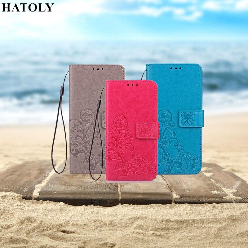 HATOLY For Flip Wallet Case Asus Zenfone 2 Laser ZE550KL Leather Case Silicone Cover Stand Phone Bag For Zenfone 2 Laser ZE550KL