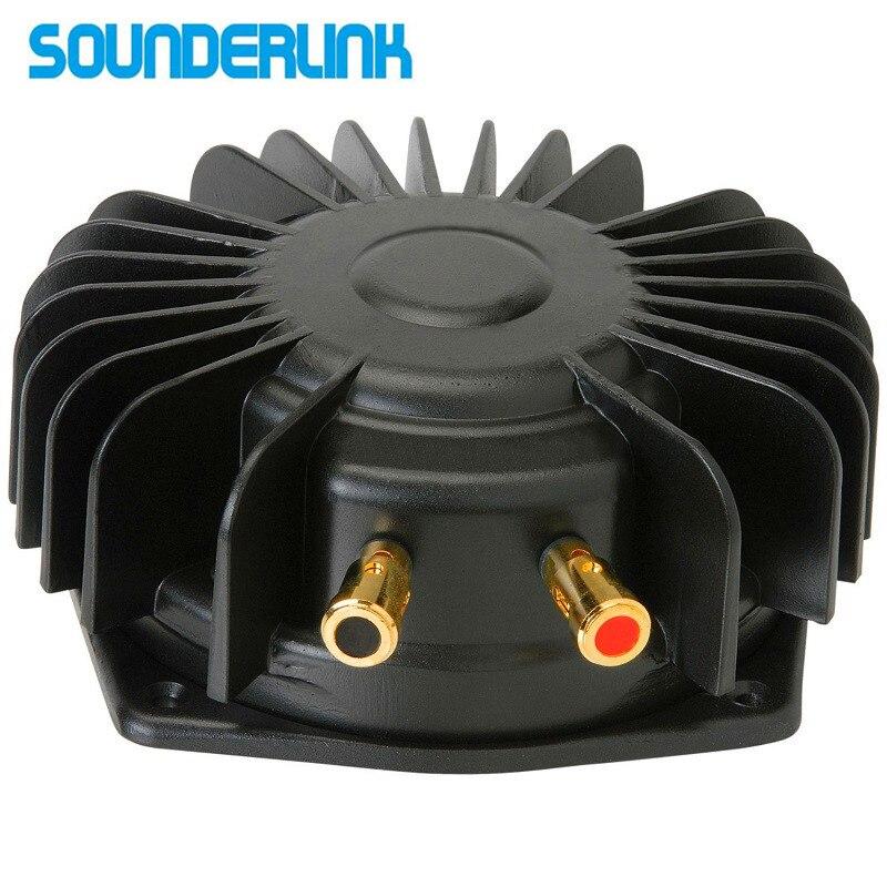 Sounderlink 6 inch 50 W tactiele transducer bass shaker bas trillingen luidspreker DIY massage home theater autostoel sofa 100 W