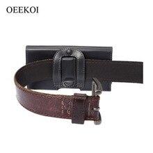 OEEKOI ceinture Clip PU cuir taille titulaire Flip couverture pochette pour THL V11/V12/V7 4 pouces livraison directe