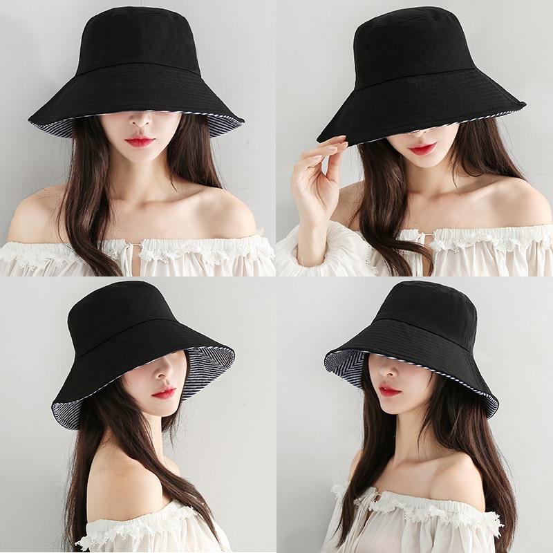 Sombrero de otoño para mujeres, amantes del hip hop literario, gorro de lavabo plegable, protector solar creativo coreano, sombrero de pescador de doble cara, sombrero de pescador para hombres