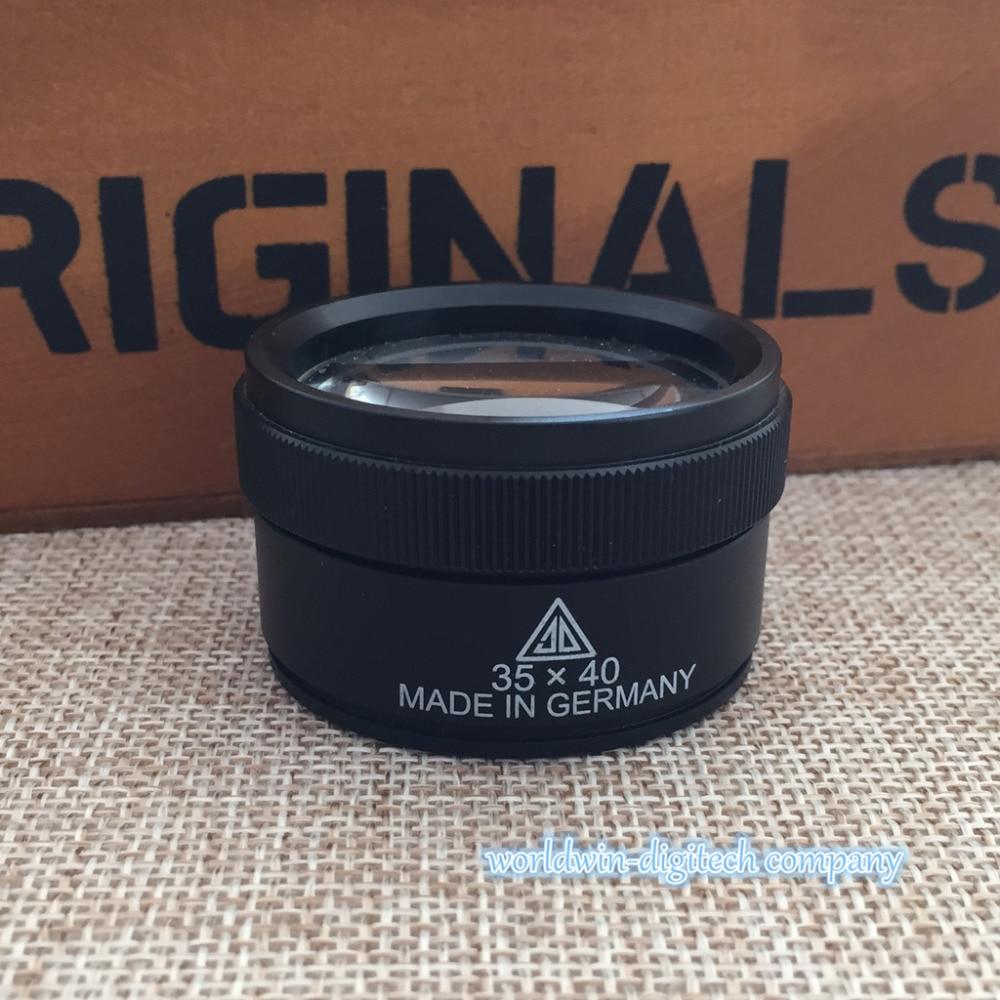 35x 40mm desktop olho lupa lupa jóias leitura mão bolso óptico paperweight zoom fresnel lente lupa