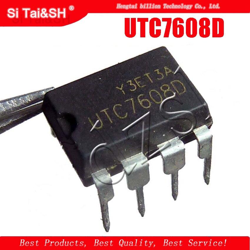 5 unids/lote UTC7608D UTC 7608D DIP-8