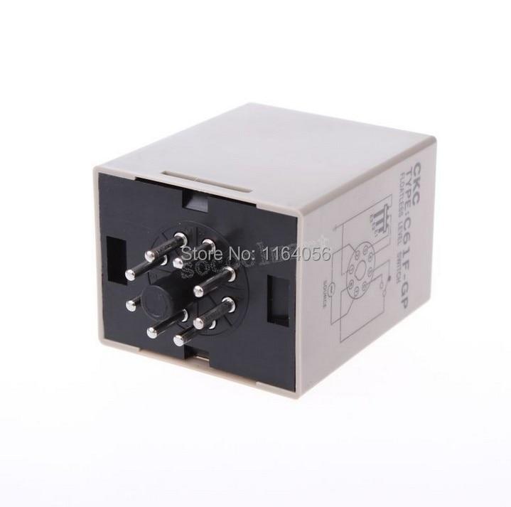 Liquid Control Relay Floatless Level Switch C61F-GP 24V SPDT 1NO 1NC 8 Pins Controller & Base