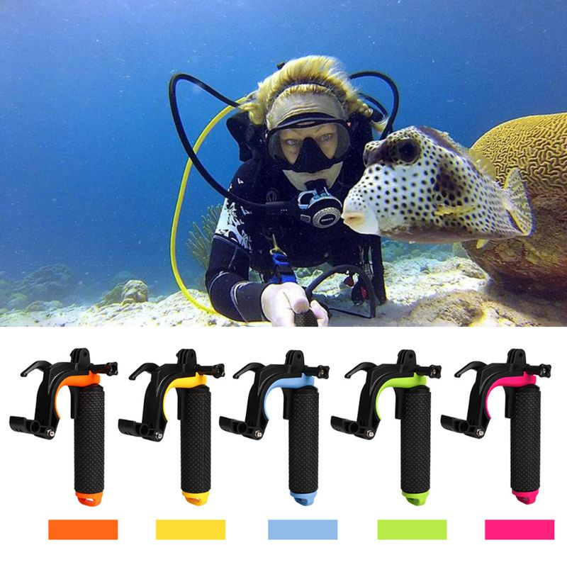 Float Shutter Stabilizer Grip Pistol Trigger Set Diving Floating Handle For GoPro Hero3+/4 Sprots Camera Accessories