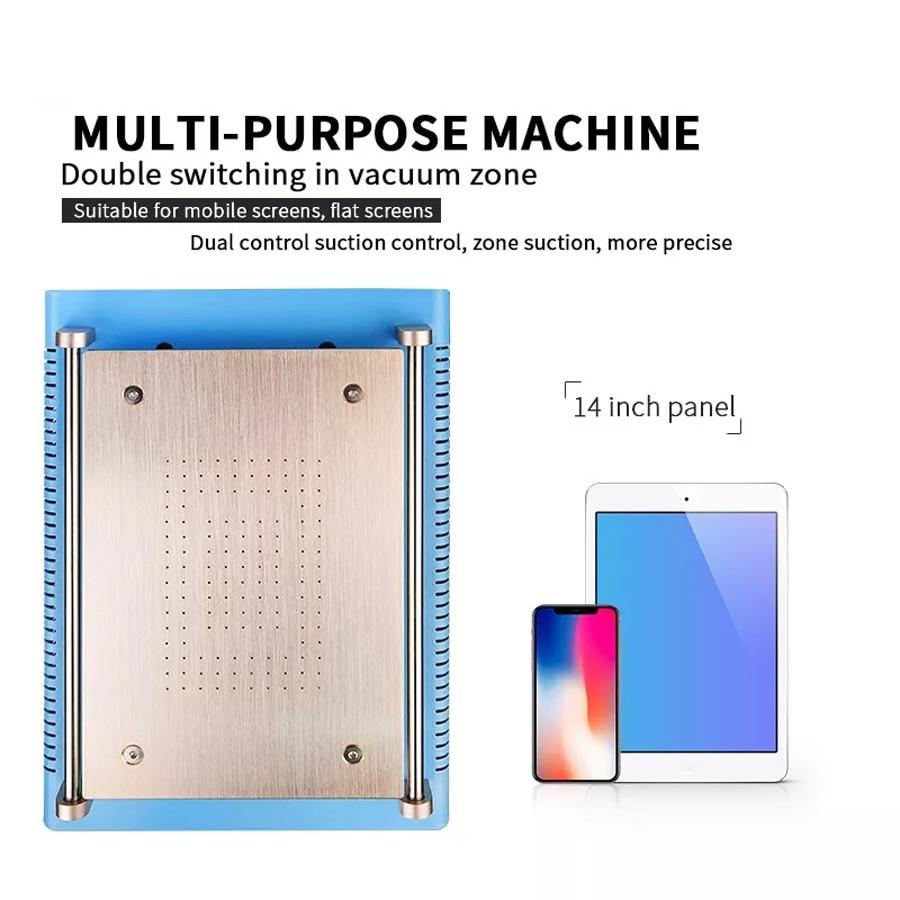 """Teléfono móvil/tableta ordenador pantalla LCD 14 """"separador de pantalla temperatura constante calefacción mesa para Iphone IPAD desmontaje"""