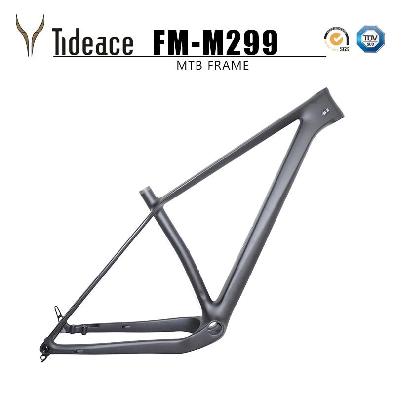 Eje pasante de 960g súper ligero, 148x12 boost MTB Cuadro De Carbono 29er Plus, marcos para bicicleta de montaña, neumáticos 29 max 3,0, piezas para bicicleta