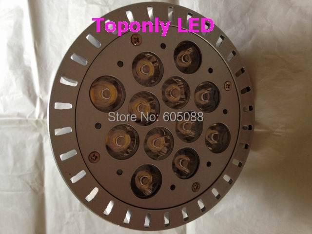2019 Epistar de alta calidad led e27 12 w par38 foco lámpara de aluminio de shell AC85-265v 1200lm CE ROHS 100 unids/lote