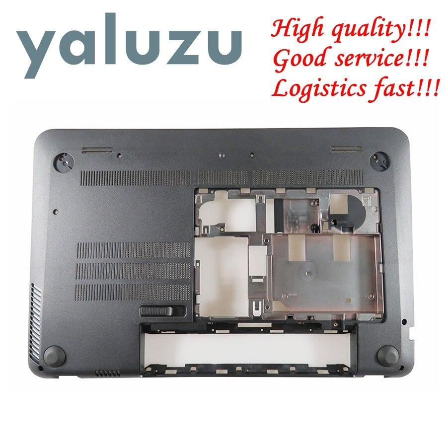 YALUZU NEUE Laptop Bottom Basis Fall Abdeckung für HP Envy 15-J 15-J000 15-J100 niedrigeren fall D Shell 720534-001 6070B0660802 schwarz