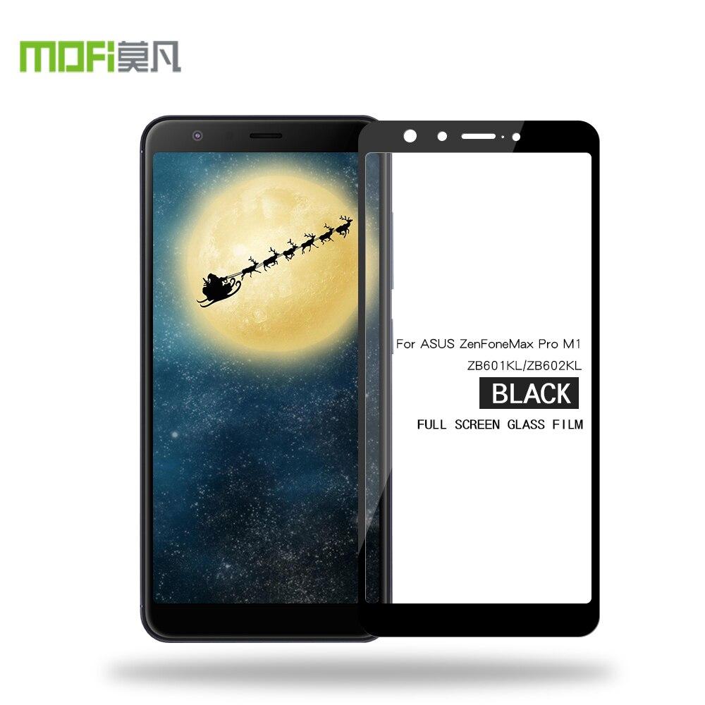 MOFi für ASUS Zenfone MAX PRO M1 ZB601KL 2.5D Volle Abdeckung Gehärtetem Glas Film für ZB602KL Screen Protector Schutz
