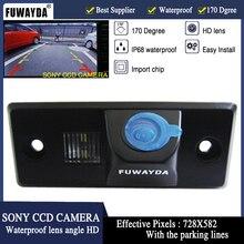 FUWAYDA caméra de rétroviseur pour voiture   Parking automobile, sauvegarde inversée, vision nocturne, étanche, SONY CCD, pour VW Skoda Fabia Tiguan