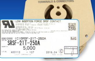 SRSF-21T-250A مآخذ تجعيد TEMINAL موصلات محطات إيواء 100% ٪ أجزاء جديدة ومبتكرة