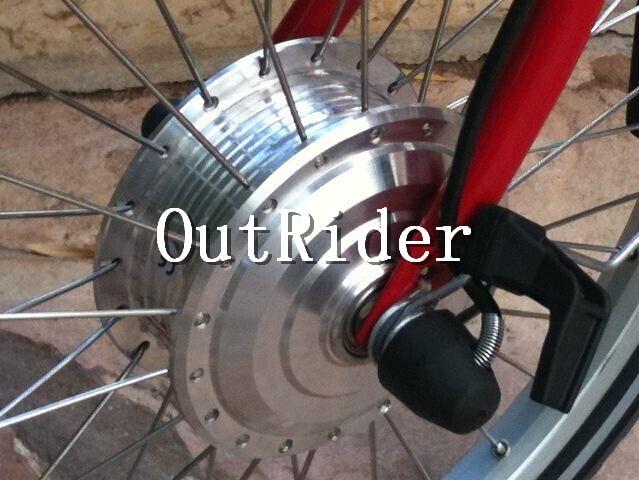 Супер качество! Бесщеточный мотор без холла, высокая скорость 80 мм для складного велосипеда BROMPTON
