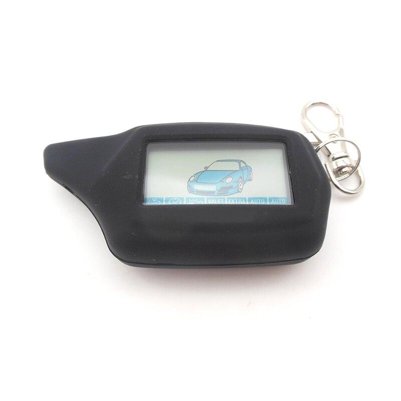 Fob llavero starline C9 controlador remoto funda de silicona para starline C9 lcd remoto dos forma de sistema de alarma para coche envío gratis