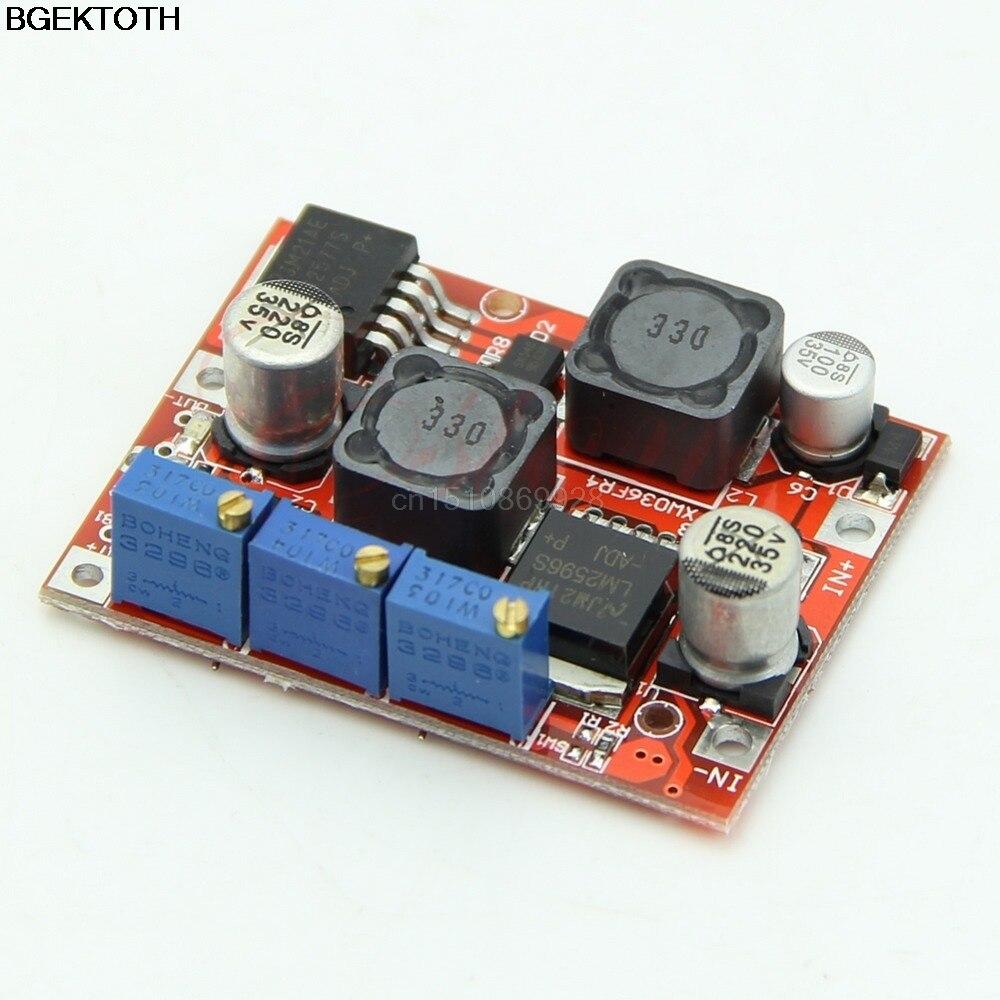 Повышающее напряжение LM2577S LM2596S, понижающий модуль преобразователя питания с DC-DC