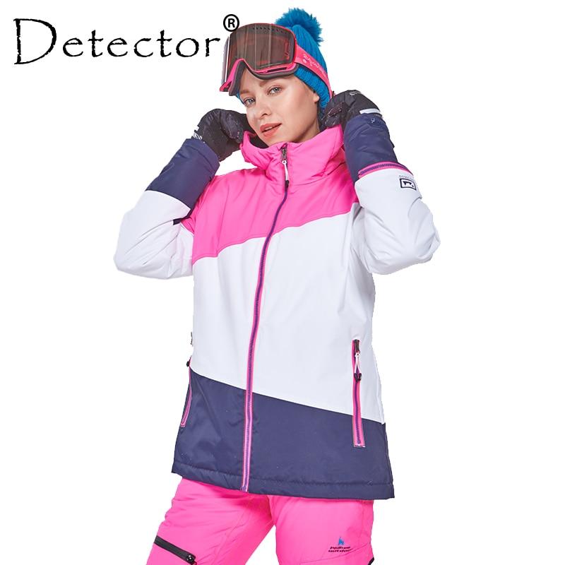 detector women s winter ski snowboard jacket waterproof windproof coat outdoor ski clothing women warm clothes Detector Women's Winter Ski Snowboard Jacket Outdoor Ski Clothing Women Waterproof Windproof Coat Warm Clothes