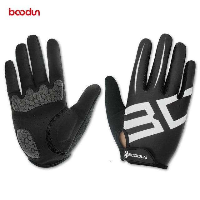 Guantes de ciclismo Boodun para hombre y mujer, guantes de Gel para...