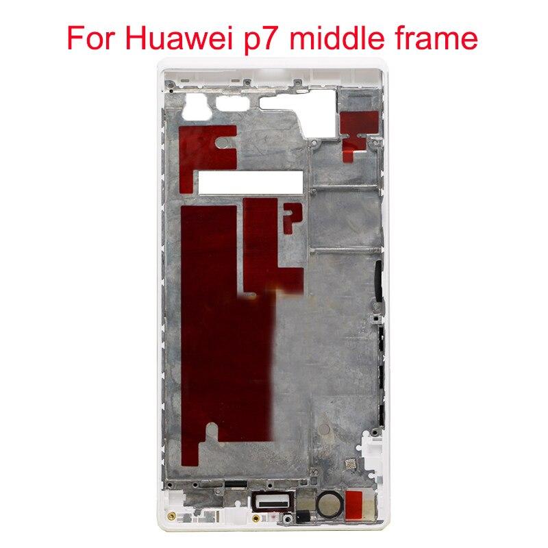 JPFix Para Huawei Ascend P7 Painel Frontal Oriente Quadro Habitação Tampa Traseira Substituição