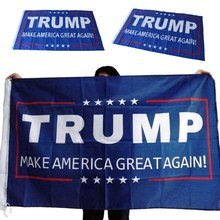 1Pcs Hot Selling 150x90cm Donald Trump Flag Make America Great Again Donald For President USA