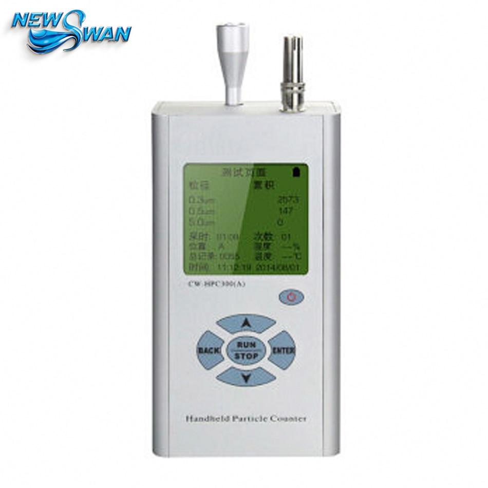 Instrumento de equipo de prueba ambiental con contador de partículas de polvo láser de alta precisión de tres canales de mano