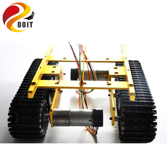 Robot Tank Car Chassis TP100 Caterpillar Clawler DIY Toy Robot Remote Control Smart Chain Platform Tracked Vehicle enlarge