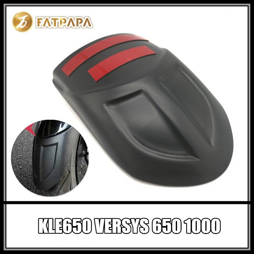 ¡Envío gratis! guardabarros delantero ABS para motocicleta Kawasaki KLE650 VERSYS650 VERSYS1000 guardabarros largos VERSYS 650 1000