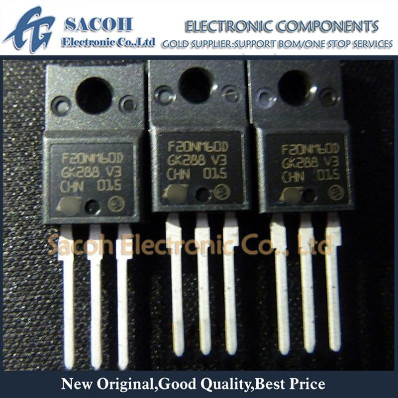 Envío gratis 10 Uds STF20NM60D F20NM60D o STF20NM50D F20NM50D TO-220F 20A 600V MOSFET rápido diodo