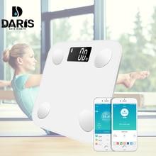 Körper Gewicht Bad Waagen Boden Wissenschaftliche Smart Elektronische Digital Gewicht Körper Fett Gesundheit Balance Bluetooth APP Android Skala