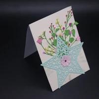 azsg shining stars cutting dies for diy scrapbooking decorative card making craft fun decoration 1211 4cm