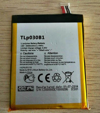 MATCHEASY Mobile phone battery fit for Alcatel One Touch Pop S7 OT-7045 7045Y TLP030B1 TLP030B2 batteries enlarge