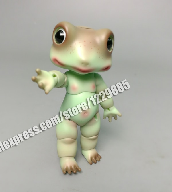 HeHeBJD 1/8 muñeca sapo Palm muñecas bady juguete ojos libres envío gratis