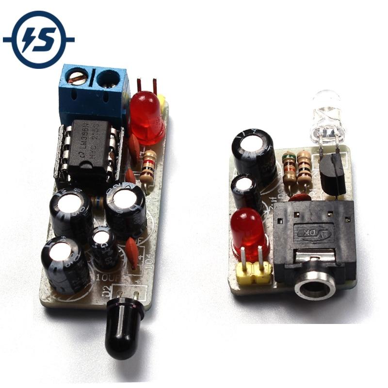 Diy kits módulo sem fio infravermelho wi fi ir som voz módulo de transmissão infravermelha icsk054a diy kit suíte produção eletrônica
