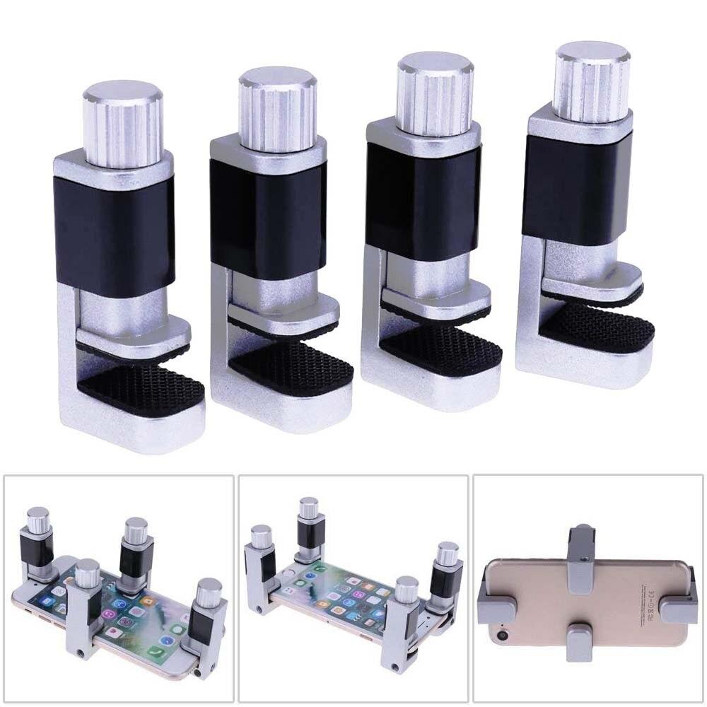 WHDZ, 2 uds/4 Uds., clip de fijación ajustable, pantalla LCD digitalizadora, abrazadera de sujeción, Clip de plástico, accesorio para todas las herramientas de reparación de teléfonos ipad