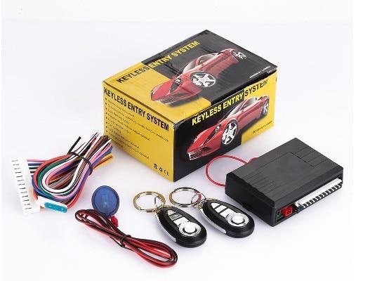 Remote Central Locking Kit Auto Car Alarm System Push Engine Engine Start/Stop Remotr Trunk Elease Keyless Entry For Toyota