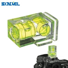 2 axes bulle bulle niveau chaussures chaudes adaptateur Dslr Slr appareil photo photographie accessoires pour Canon pour Nikon Olympus appareil photo reflex