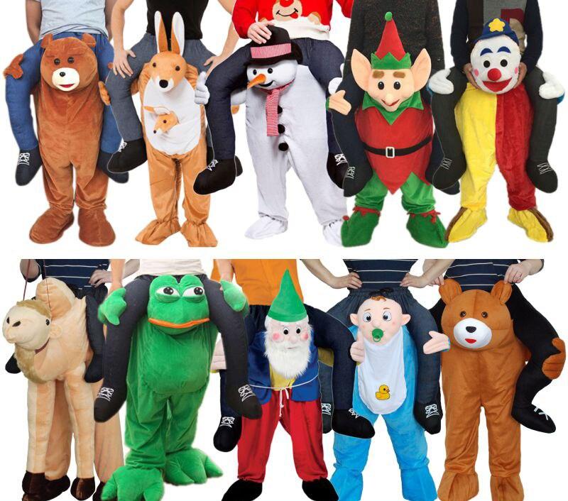 ركوب على لي التميمة ازياء حمل الظهر مضحك الحيوان السراويل Oktoberfest هالوين حفلة تأثيري الملابس الحصان ألعاب ركوب