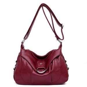 Leather Luxury Handbags Women Shoulder Bags Designer Women Tote Messenger Bags Summer Mother Crossbody Top-handle Bags For Women