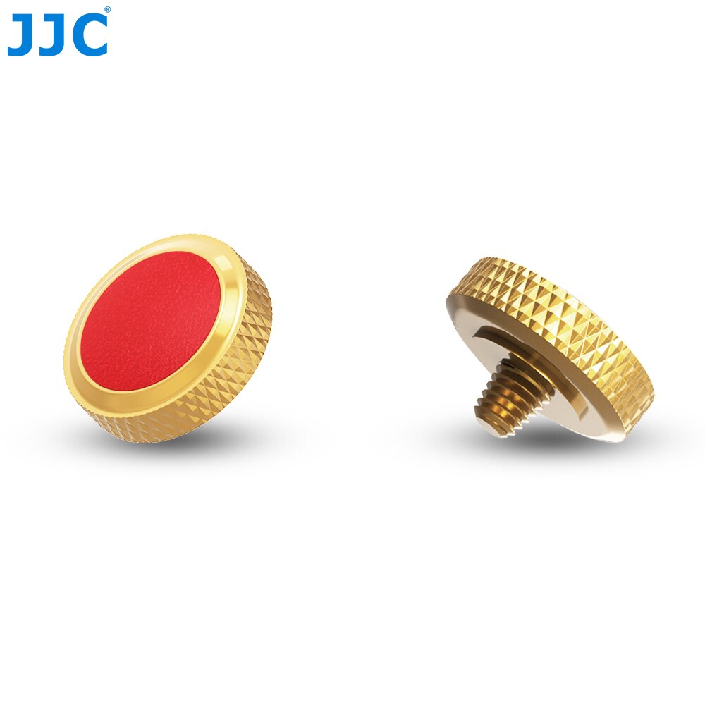 JJC Camera Shutter Soft Release Button for Fuji X100V X-T4 XT4 X-T30 X-T20 XT10 X-T3 X-T2 X-PRO3 X-PRO1 X-PRO2 X100 X100T X100F